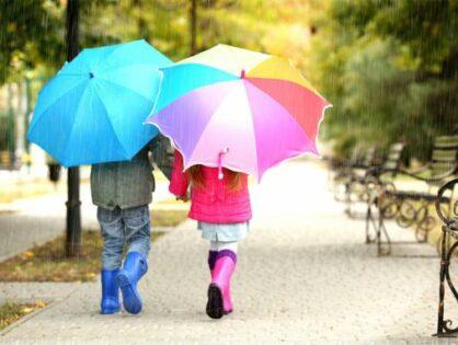 Романтика под дождем